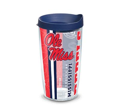 OLE MISS REBELS COLLEGE PRIDE WRAP WITH TRAVEL LID