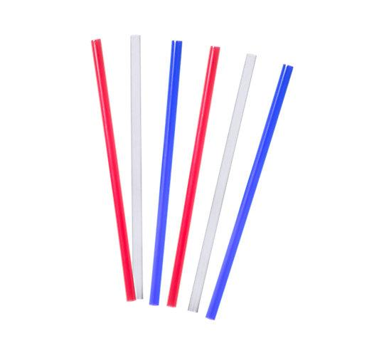 Straight Straws 10 Inch Traditional Colors