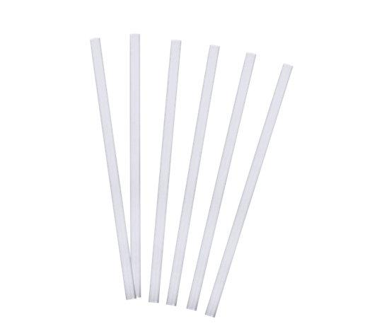 Straight Straws 10 Inch Frosted