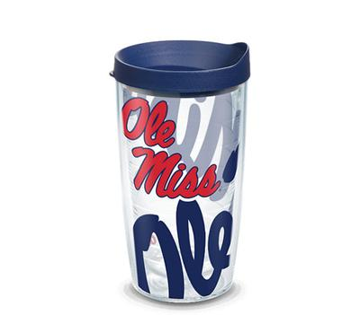 OLE MISS REBELS GENUINE WRAP WITH TRAVEL LID