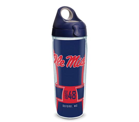 Ole Miss Rebels Spirit Wrap With Water Bottle Lid