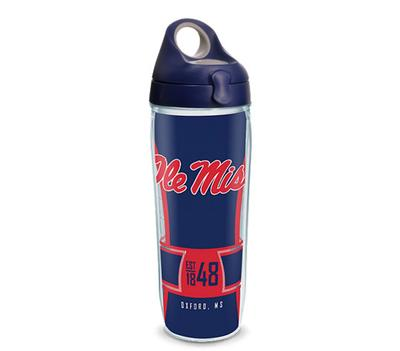 OLE MISS REBELS SPIRIT WRAP WITH WATER BOTTLE LID NAVY