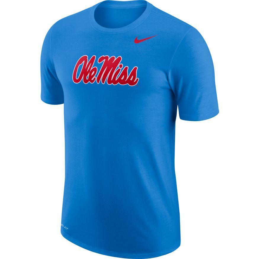 Nike College Dri- Fit Ole Miss T- Shirt