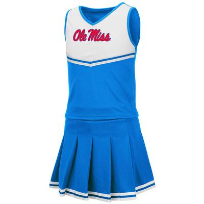 TODDLER GIRLS PINKY CHEER SET BLUE