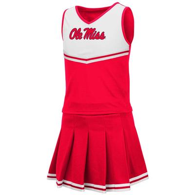 TODDLER GIRLS PINKY CHEER SET RED