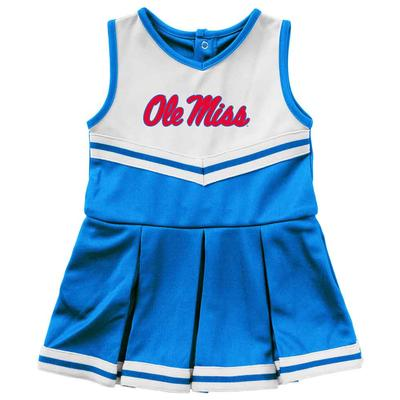 INFANT GIRLS PINKY CHEER DRESS BLUE