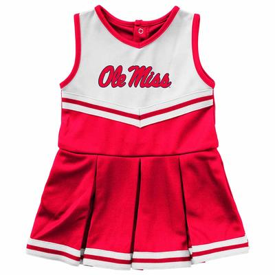 INFANT GIRLS PINKY CHEER DRESS RED
