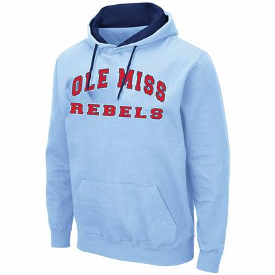 MENS COMIC BOOK PULLOVER BLUE