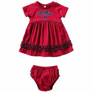 INFANT GIRLS PLUCKY DRESS SET
