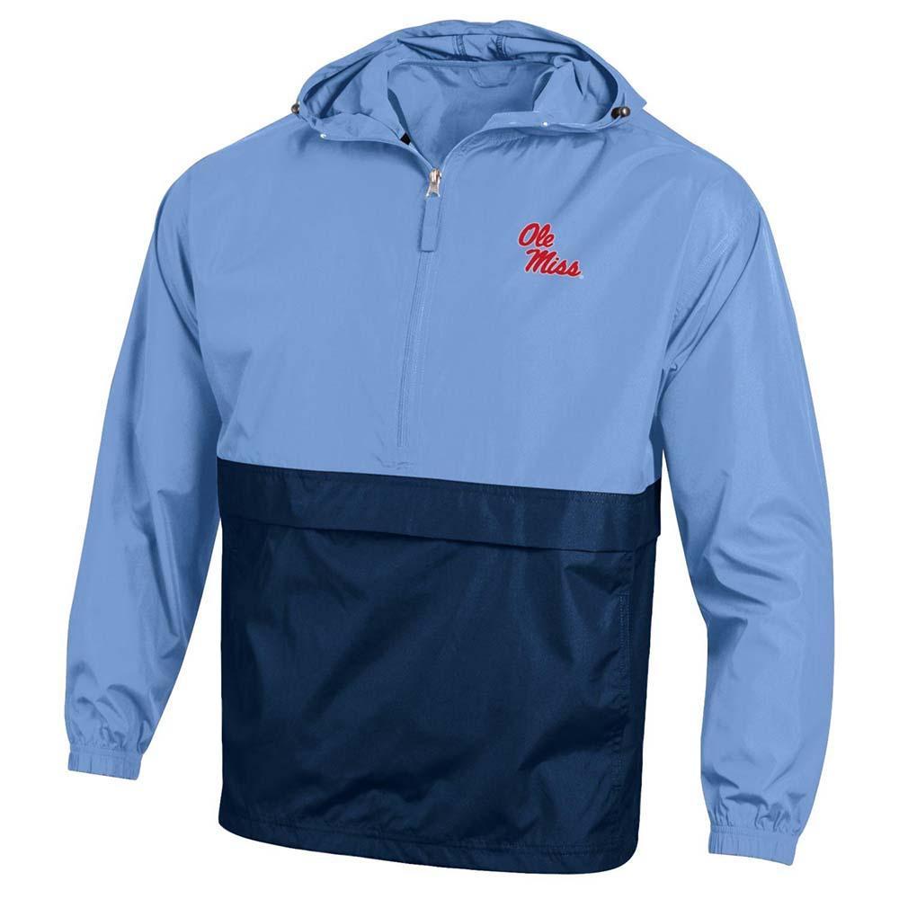 Om Rebels Color Block Packable Jacket