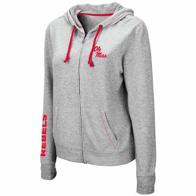WOMENS MANHATTAN FULL ZIP HOODIE