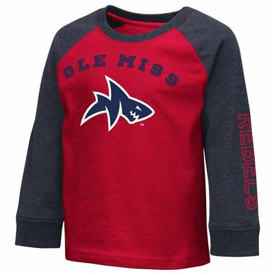 TODDLER BOYS ANIMANIACS RAGLAN L/S TEE