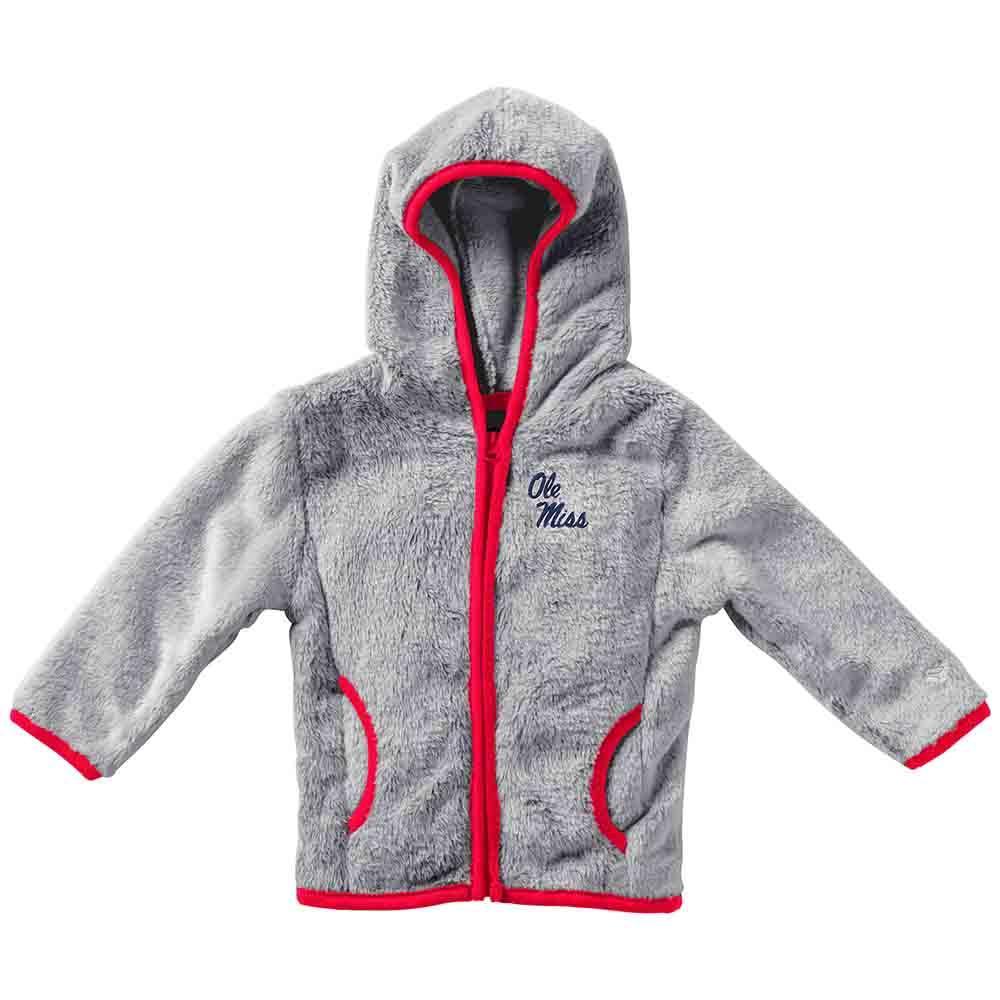 Infant Girls Chicken Boo Faux Fur Jacket