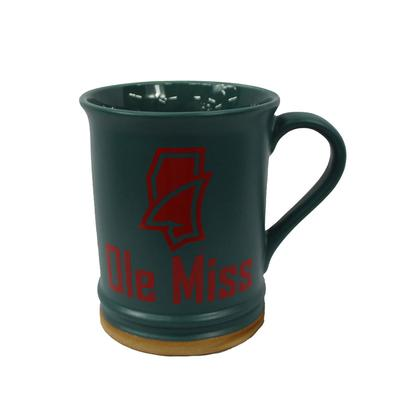 15 OZ TEAL ALLURE MUG