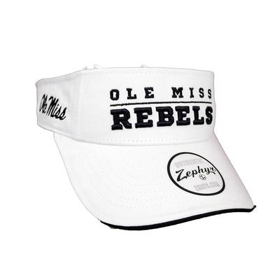 OLE MISS REBELS GILMORE VISOR
