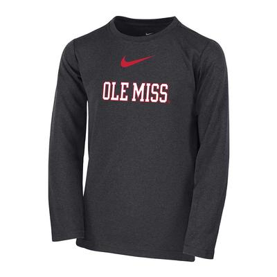 LS OLE MISS BOYS COACH TOP ANTHRACITE