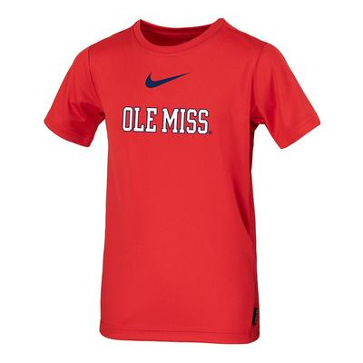 SS OLE MISS BOYS COACH TOP RED