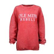 OLE MISS CORDED SWEATSHIRT