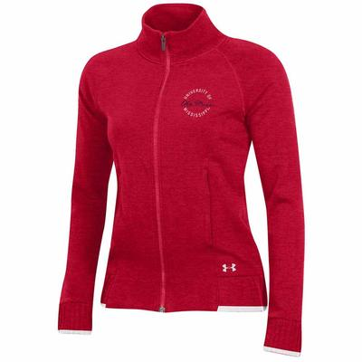 F18 WOMENS THREADBORNE FULL ZIP