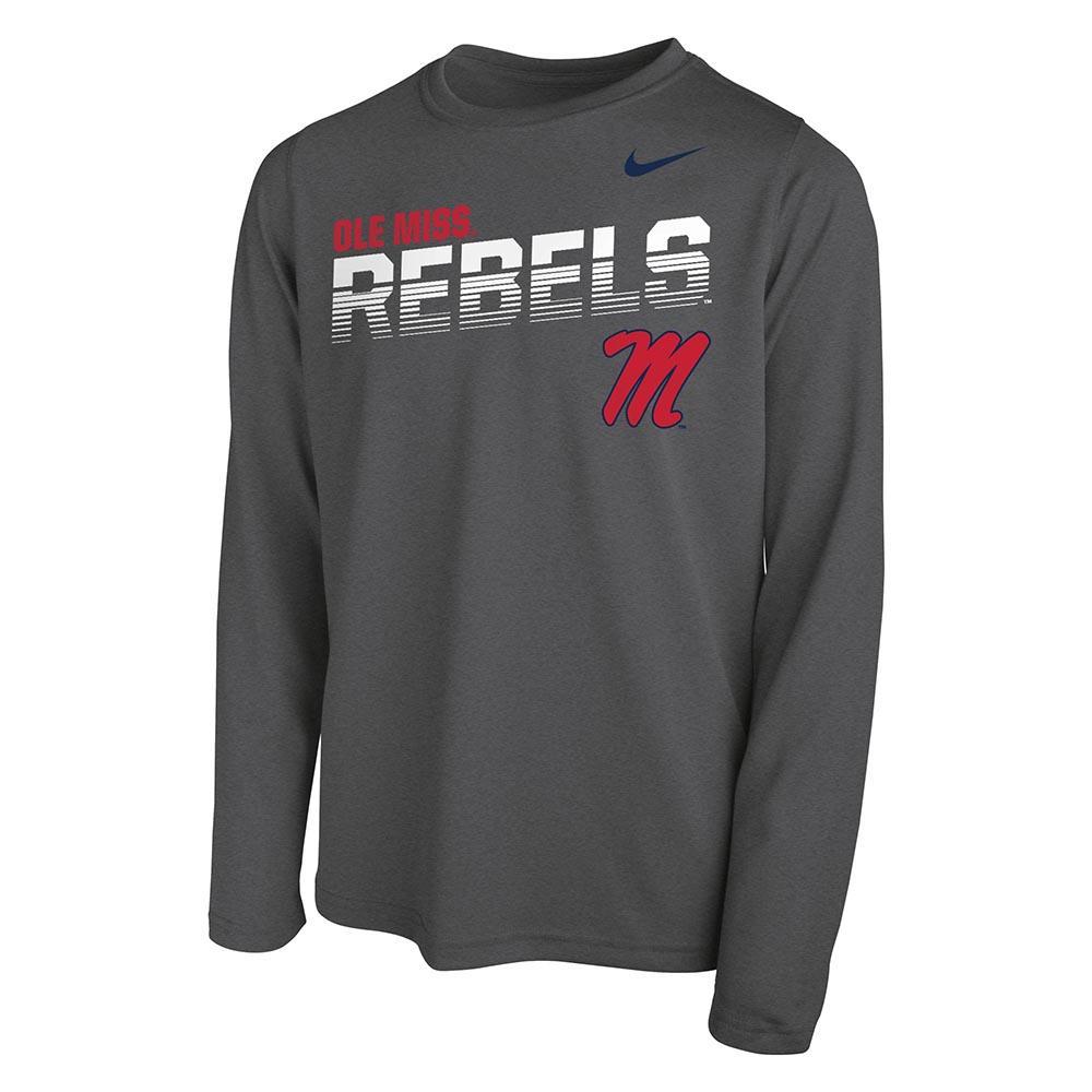 Ls Boys Rebels M Legend Tee