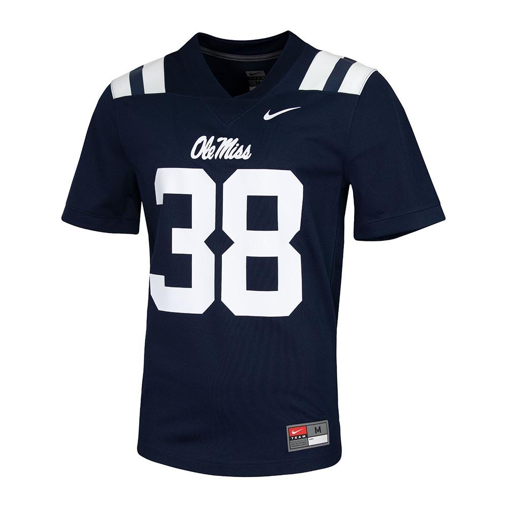 Untouch Ole Miss 38 Football Jersey