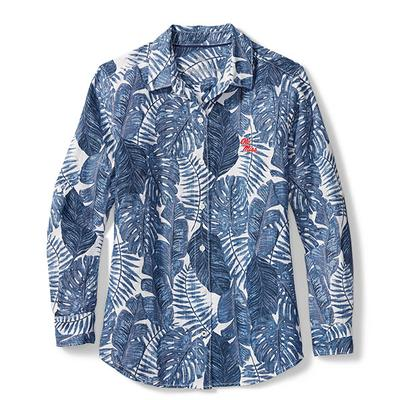 SPORT FRONDLY FAN LINEN SHIRT