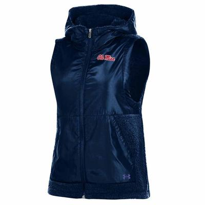 F19 WOMENS SMU MAMMOTH FLEECE VEST