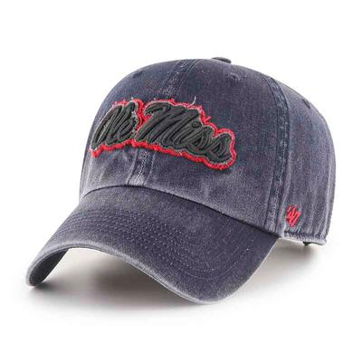 NAVY BEULAH CLEAN UP CAP
