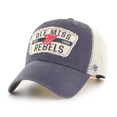 NAVY CRAWFORD CLEAN UP CAP