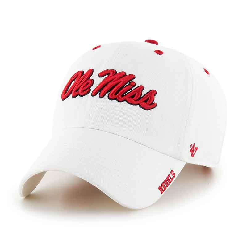 White Ice 47 Clean Up Cap