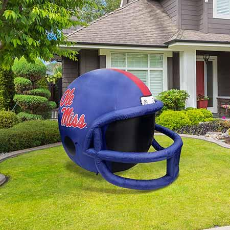 Ole Miss Inflatable Lawn Helmet