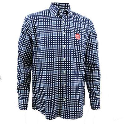 LYCEUM GINGHAM DRESS SHIRT
