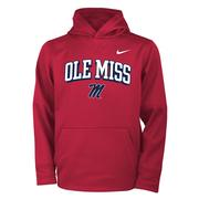 OLE MISS M BOYS THERMA PO HOODY