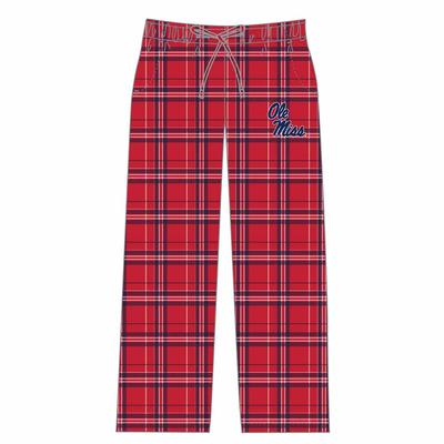 HILLSTONE MENS FLANNEL PANT RED
