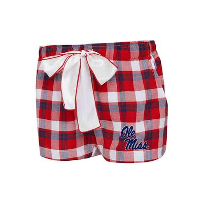 PIEDMONT LADIES FLANNEL SHORT
