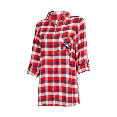 PIEDMONT LADIES LS FLANNEL NIGHTSHIRT