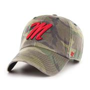 M OLE MISS CAMO CLEAN UP CAP