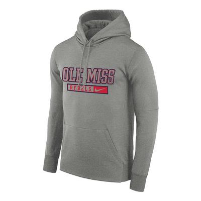OMR NIKE THERMA PO HOODY DARK_GREY_HEATHER
