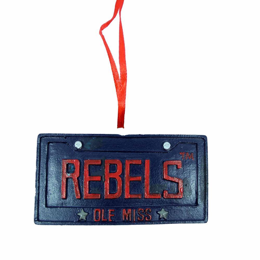 Omr License Plate Ornament