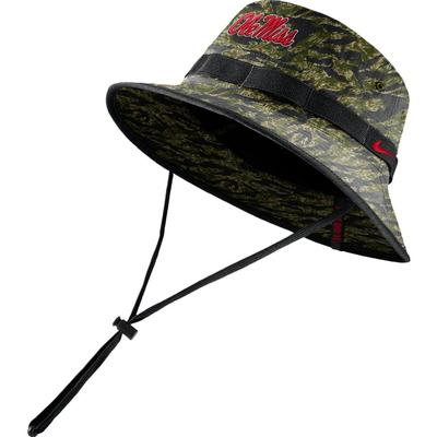 OLE MISS CAMO BUCKET HAT