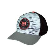 OLE MISS DIFFUSE ONE FIT THREE TONE CAP