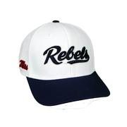 OLE MISS INFIELD ONE FIT TWO TONE CAP
