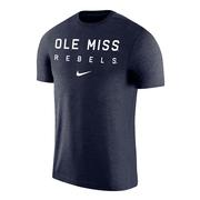 SS OLE MISS REBELS COACH TEE