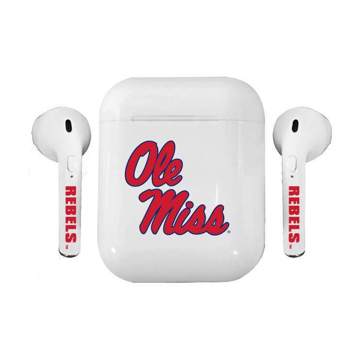 Ole Miss Wireless Bluetooth Earbuds