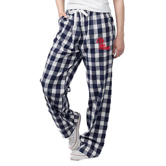 Ole Miss Flannel Pant