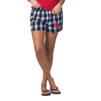 LADIES ESSENTIAL FLANNEL SHORT