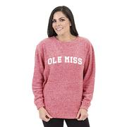 BLOCK OLE MISS COZY CREW