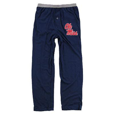 BOYS OM JERSEY CHILL PANT NAVY