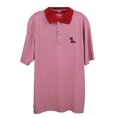 OLE MISS SOUTHERN POLO RED