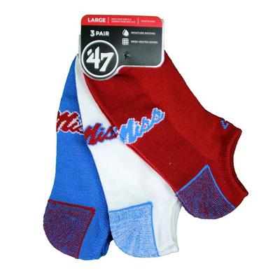 3PK BLADE MOTION SOCK NO SHOW